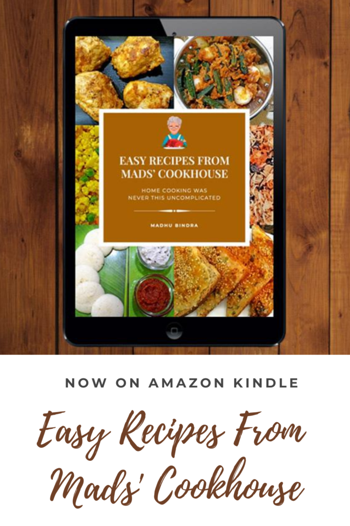 Easy Recipes from Mads' Cookhouse is now on Amazon Kindle