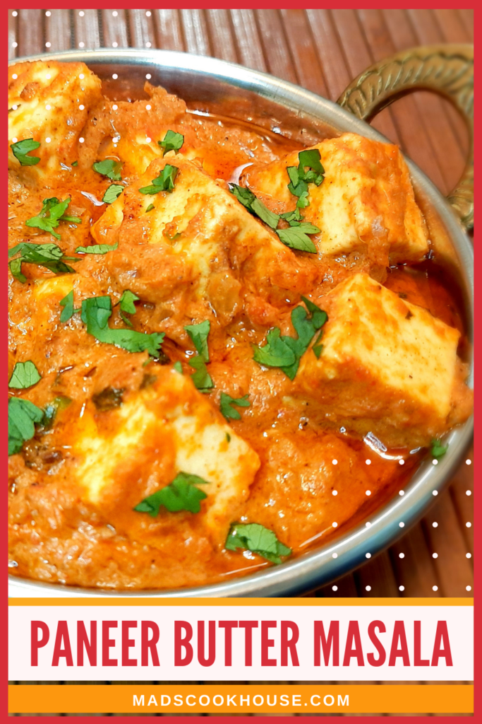 Paneer cubes in a rich, creamy butter-based gravy that will have you licking your fingers. Try this nut-free recipe that is just as delicious.