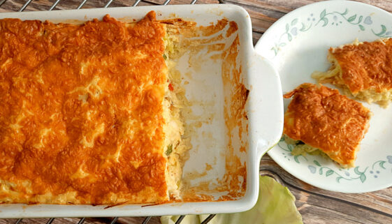 Cheesy-Cabbage-Casserole