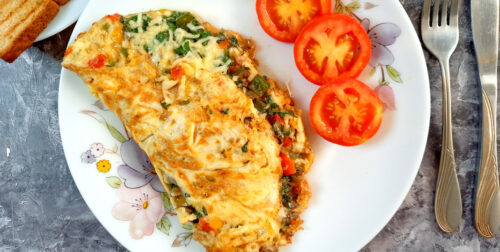 Masala-Cheese-Omelette