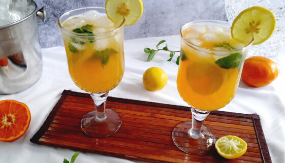 Orange-Lemon-Mojito