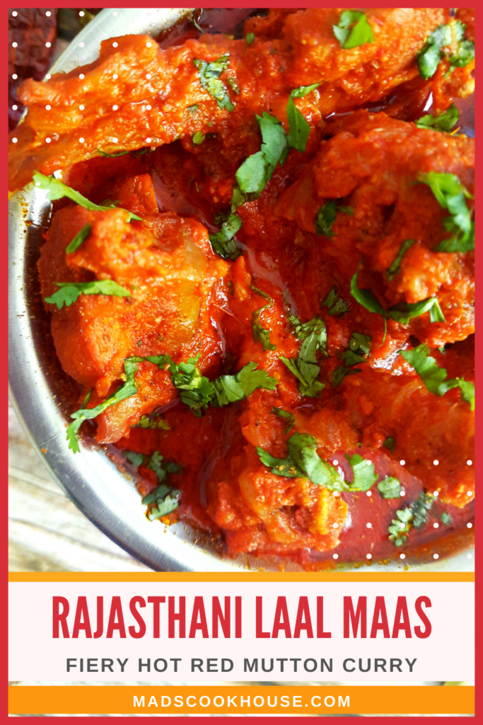 Rajasthani Laal Maas (Red Mutton Curry)